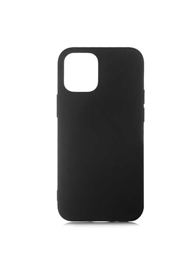 Bludfire Apple Iphone 12 Pro Lansman Koruma Kılıfı Silikon Siyah Siyah